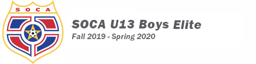 SOCA U13 Boys Elite